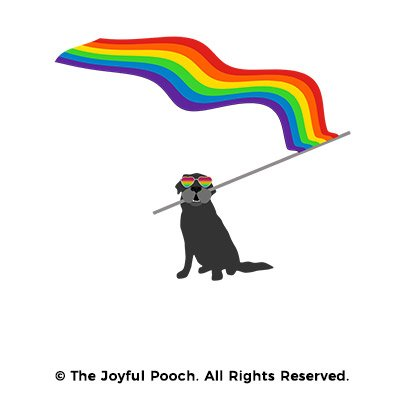design-close-up-rainbow-flag-black-dog